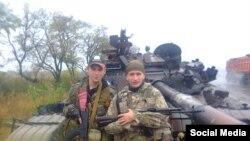 Наемные российские военные в Луганске. Фото от 2016 года.