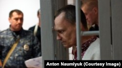 Микола Карпюк на оголошенні вироку
