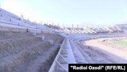 Сохтмони варзишгоҳи марказии шаҳри Ваҳдат ҷараён дорад