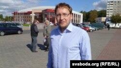 Андрэй Дзьмітрыеў прыехаў да пікету, калі Пядбярэцкага ўжо забралі ў міліцыю