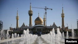 Мвзолей лидера Исламской революции аятоллы Хомейни в Тегеране