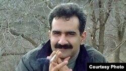 Alireza Rezaei after fleeing to northern Iraq's Kurdish region