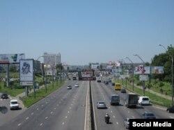 Бывший Московский проспект в Киеве