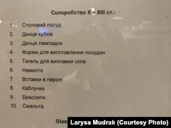 Вітрина Музею історії Києва