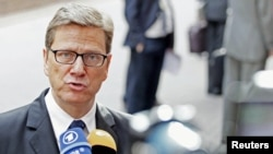 "German Foreign Minister Guido Westerwelle said the denial ""shows how important our European involvement is for the preservation of human rights in our neighboring European countries."""