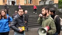 Դասադուլ հայտարարած ուսանողները միանում են Նիկոլ Փաշինյանին