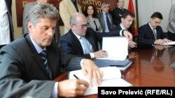 Potpisivanje Opšteg kolektivnog ugovora