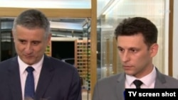 Tomislav Karamarko i Božo Petrov