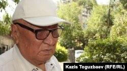 Полковник в отставке Маман Жаксигельдинов. Алматы, 29 июля 2014 года.