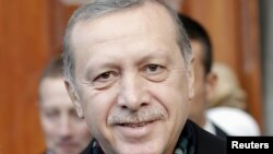 Presidenti i Turqisë, Recep Tayyip Erodogan.