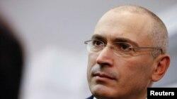ЮКОС компаниясының бұрынғы басшысы әрі негізгі акционері Михаил Ходорковский.