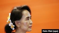 Президент Мьянмы Аун Сан Су Чжи