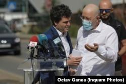 Aurelian Bădulescu întrerupe conferința de presă a lui Nicușor Dan