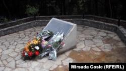 Spomen-obilježje na mjestu zločina, juni 2016.