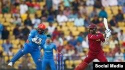 آرشیف، مسابقه کریکت میان تیم های افغانستان و ویست اندیز
