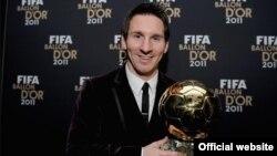 2011`FİFA Kişilər arasında Dünyanın ən yaxşı futbolçusu Lionel Messi, Sürix, 9 yanvar 2012