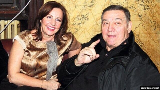Pjevačica Ana Bekuta i ministar Milutin Mrkonjić, foto: Kurir