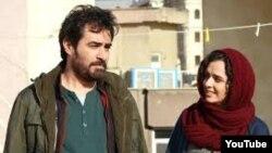 شهاب حسینی و ترانه علیدوستی در نمایی از فیلم فروشنده، ساخته اصغر فرهادی
