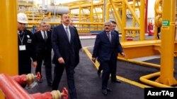 İlham Əliyev «Neft Daşları»nda
