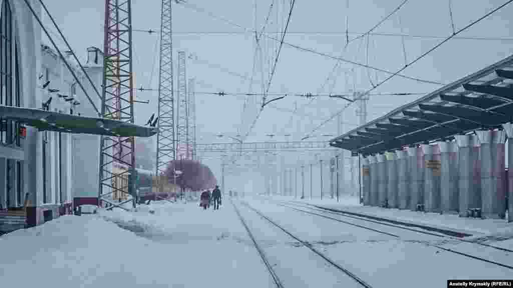 Железнодорожный вокзал для двоих