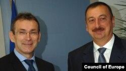 Andris Piebalqs və İlham Əliyev, 7 noyabr 2006