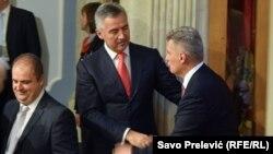 Genci Nimanbegu, Milo Đukanović i Ivan Brajović