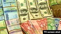 Türkmen manady we amerikan dollary
