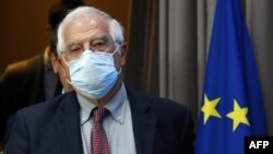 European Union High Representative for Foreign Affairs and Security Policy Josep Borrell. July 13, 2020