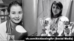Погибшие спортсменки: Фатима Жагупова (справа) и Элина Гисмеева (слева)