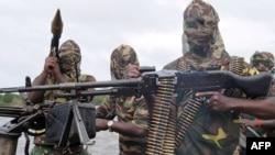 Баевікі Руху за вызваленьне дэльты Нігера ў 2008 годзе рыхтуюцца да апэрацыі супраць нігерыйскага войска