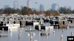 Таким був Новий Орлеан у штаті Луїзіана, коли регіоном пронісся ураган «Катріна», вересень 2005 року