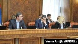 Sednica Vlade Srbije povodom presude Radovanu Karadžiću