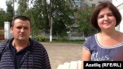 Дмитрий Алтухов һәм Роза Хәйрулина
