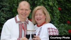 Посол Уильям Мозер и его супруга Мария