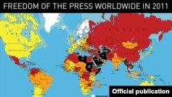 პრესის თავისუფლების რუკა