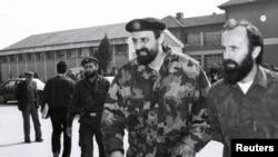 Goran Hadžić u Okučanima 1993.