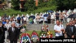 Obilježavanje godišnjice u Bratuncu, 9. juli 2016.