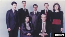Familja e Bashar al Assad (Ilustrim)