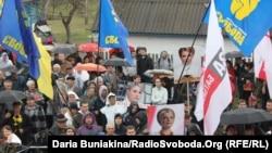 На Черкащині вшанували борців за волю України