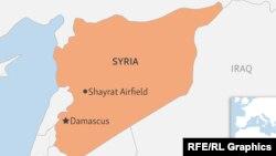 База ВВС Сирии Шейрат