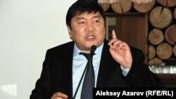 Начальник управления туризма при акимате Алматы Бакитжан Жуламанов. 25 февраля 2014 года.