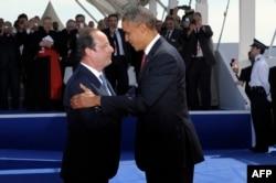 Франсуа Олланд и Барак Обама. Теперь Франция огорчена