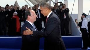 Президент Франции Франсуа Олланд проведет переговоры с президентом США Бараком Обамой в Вашингтоне