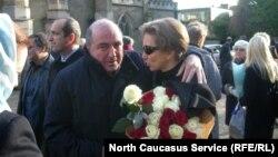 Борис Березовский и Марина Литвиненко в Лондоне через год после смерти Александра Литвиненко. 23 ноября 2007 г