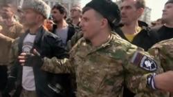 Казаки-разбойники. Драка казаков с протестующими на Пушкинской площади