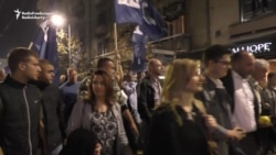 Serbs Demand 'Fair And Democratic' Elections In Belgrade Protest