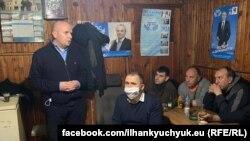 Илхан Кючюк на предизборна среща в с. Света Петка, община Велинград. 16 март 2021 г.