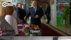 Тихановская менен Лукашенконун добуш бериши
