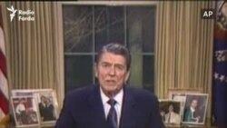 1987 Ronald Reagan Gives Speech About The Iran-Contra Affair