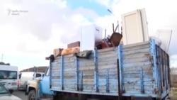 Armenii pleacă din Nagorno-Karabah
